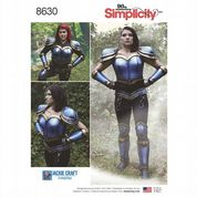 8630 Simplicity Pattern: Misses' Cosplay Armour
